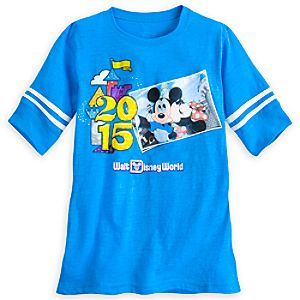 Mickey and Minnie Mouse Football Jersey for Women - Walt Disney World 2015