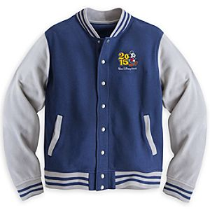 Mickey Mouse Varsity Jacket for Men - Walt Disney World 2015