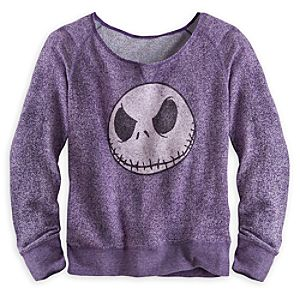 Jack Skellington Long Sleeve Top for Women