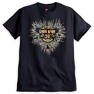The Lion King Tee for Adults - 20th Anniversary - Limited Availability