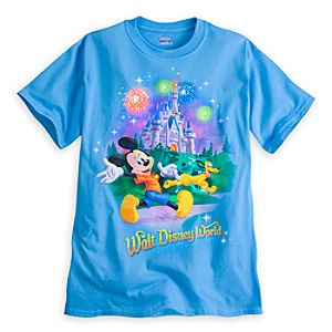 Mickey Mouse and Pluto Tee for Adults - Walt Disney World