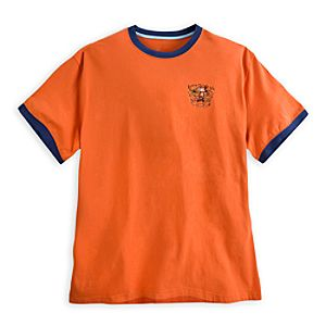 Mickey Mouse Ringer Tee for Men - Walt Disney World - Orange