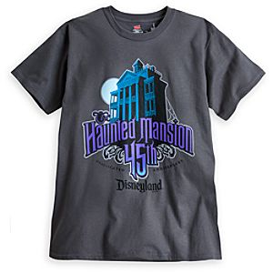 The Haunted Mansion Tee for Men - 45th Anniversary - Limited Availability