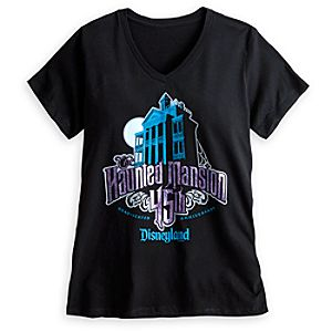 The Haunted Mansion Tee for Women - 45th Anniversary - Limited Availability