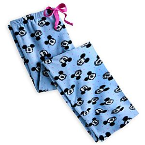 Mickey Mouse Fleece Pants for Women