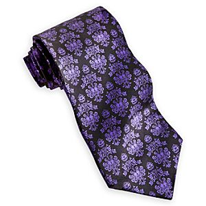 The Haunted Mansion Silk Tie for Men