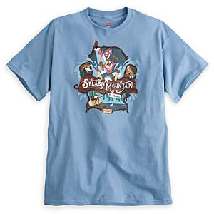 Splash Mountain Tee for Adults - 25th Anniversary - Disneyland - Limited Availability