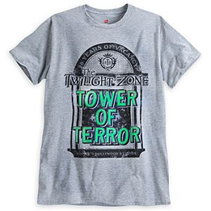 The Twilight Zone Tower of Terror Tee for Adults - 20th Anniversary - Limited Availability