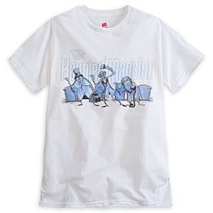 Hitchhiking Ghosts Tee for Adults - The Haunted Mansion - Limited Availability