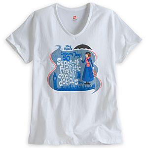 Mary Poppins Tee for Women - 50th Anniversary - Limited Availability