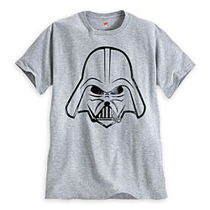 Darth Vader Gel Tee for Adults - Star Wars