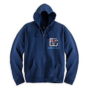 Mickey Mouse and Friends Hoodie for Men - Walt Disney World