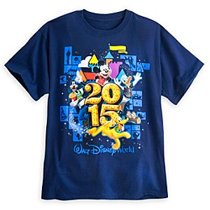 Mickey Mouse and Friends Tee for Adults - Walt Disney World 2015