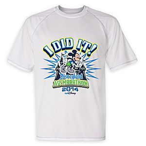 Disneyland Half Mararthon Performance Tee for Men - RunDisney 2014 - Limited Availability