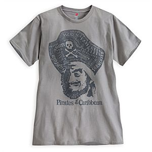 Pirates of the Caribbean Tee for Men - Limited Availability