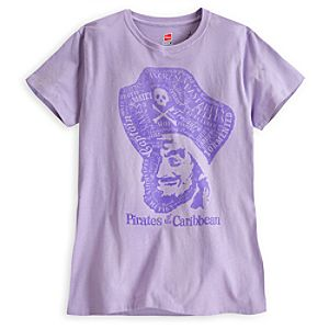 Pirates of the Caribbean Tee for Women - Limited Availability