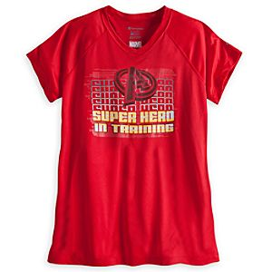 The Avengers Super Hero in Training Performance Tee for Women - Limited Availability
