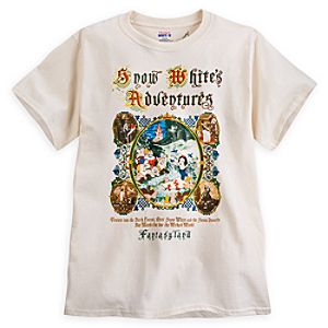 Snow Whites Adventures Attraction Poster Tee for Adults - Limited Availability
