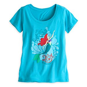 The Little Mermaid Tee for Women - 25th Anniversary - Limited Availability