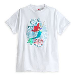 The Little Mermaid Tee for Adults - 25th Anniversary - Limited Availability