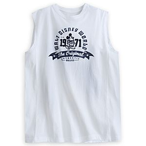 Mickey Mouse Sleeveless Tee for Men - Walt Disney World