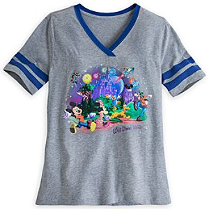 Mickey Mouse and Friends Storybook Athletic Tee for Women - Walt Disney World