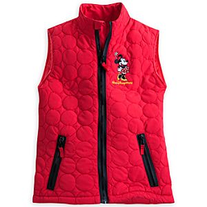 Minnie Mouse Winter Vest for Women - Walt Disney World