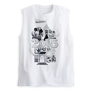 Mickey Mouse and Friends Sleeveless Tee for Adults - Walt Disney World 2015