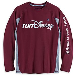 RunDisney Long Sleeve Performance Tee for Adults by Champion