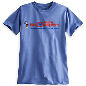 Mickey Mouse Walt Disney World Logo Tee for Adults