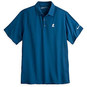 Mickey Mouse Polo Shirt for Men by Nike Golf - Blue
