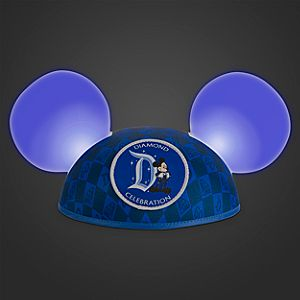 Disneyland Diamond Celebration Made With Magic Ear Hat