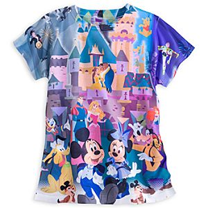 Mickey Mouse and Friends Tee for Women - Disneyland Diamond Celebration