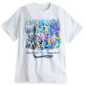 Mickey Mouse and Friends Tee for Adults - Disneyland Diamond Celebration