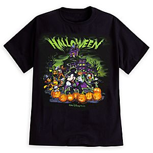 Mickey Mouse and Friends Halloween Tee for Adults - Walt Disney World