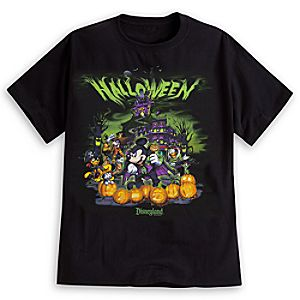 Mickey Mouse and Friends Halloween Tee for Adults - Disneyland