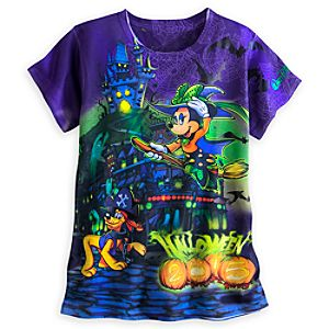 Mickey Mouse and Friends Halloween Tee for Women