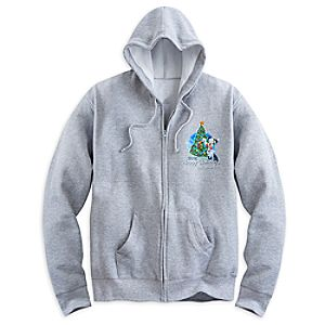 Santa Mickey Mouse and Friends Holiday 2015 Hoodie for Adults - Walt Disney World