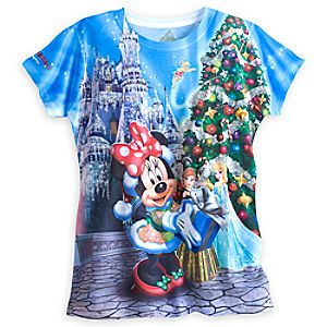 Minnie Mouse and Friends Sublimated Art Tee for Women - Walt Disney World