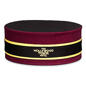 Hollywood Tower Hotel Bellhop Hat for Adults