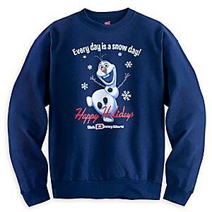 Olaf Holiday Sweatshirt for Adults - Walt Disney World