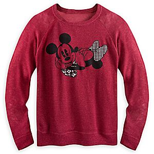 Mickey and Minnie Mouse Sweater for Women