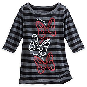 Minnie Mouse Say Yes To Bows Tee for Women