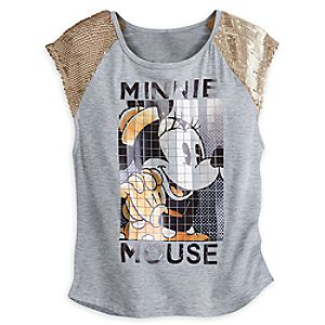 Minnie Mouse Mosaic Tee for Women - Disney Boutique