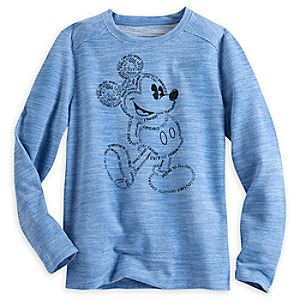 Mickey Mouse Long Sleeve Pullover for Women