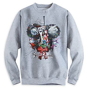 Sandy Claws and Friends Sweatshirt for Adults - Walt Disney World