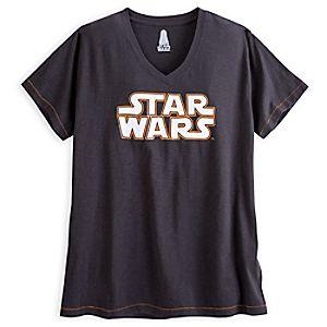 Star Wars Logo Fashion Tee for Women