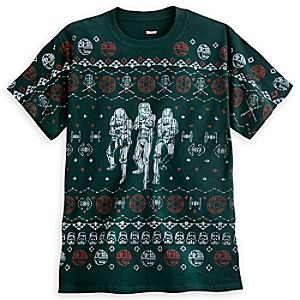 Star Wars Galactic Empire Stitchwork Tee for Adults