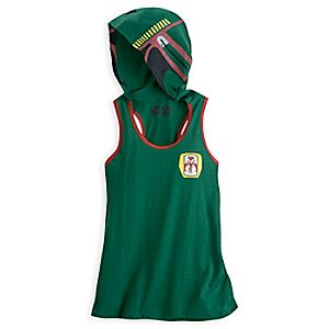 Boba Fett Hooded Tank for Women - Star Wars