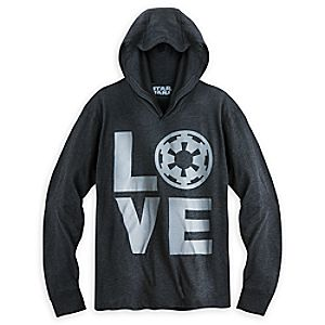 Imperial Love Pullover Hoodie for Women - Star Wars